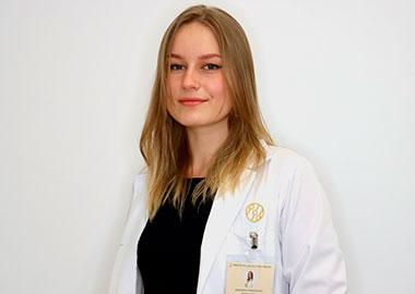 Anastasia Podshivalova - Auxiliar de clinica - Instituto Médico del Prado